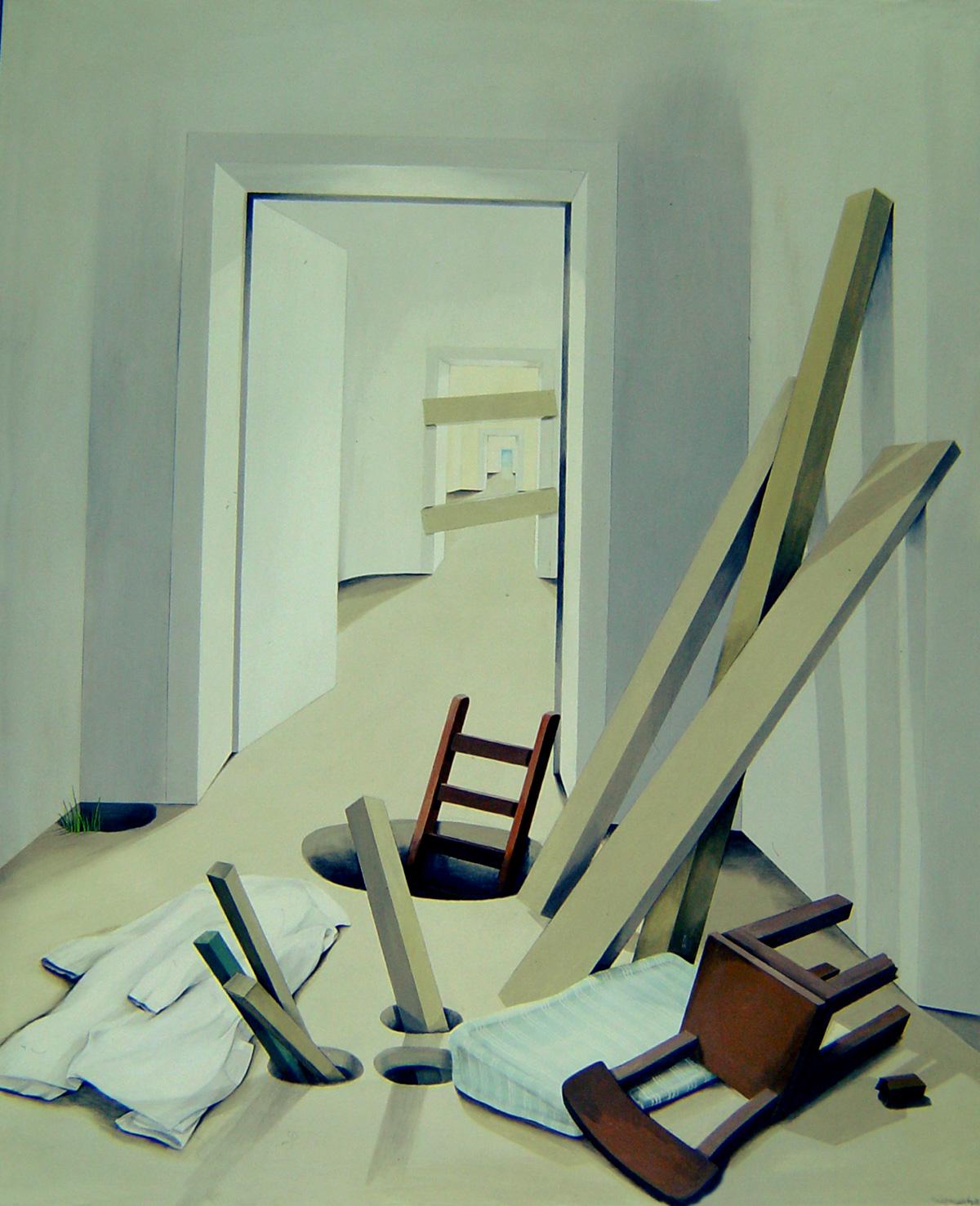 renate sautermeister 1975 77 r ume. Black Bedroom Furniture Sets. Home Design Ideas